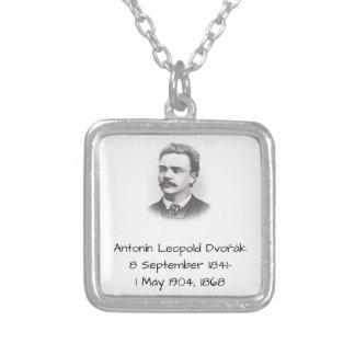 Antonin Leopold Dvorak 1868 Versilberte Kette