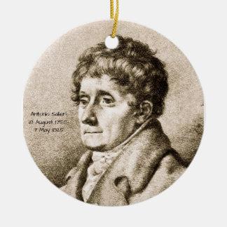 Antonio Salieri Keramik Ornament