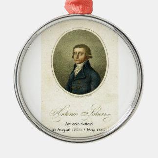 Antonio Salieri Silbernes Ornament