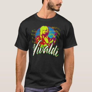 Antonio Vivaldi-T-Stück T-Shirt