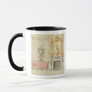 Antrag für einen zeichnenden Rauminnenraum, Tasse