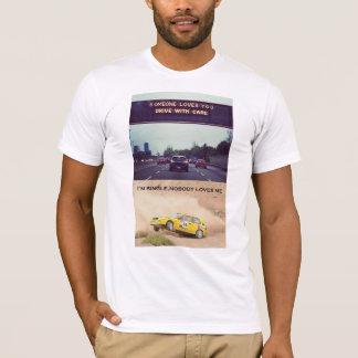 Antrieb sorgfältig T-Shirt