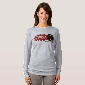 Antrieb-Taxi-Damen-lange Hülse T-Shirt