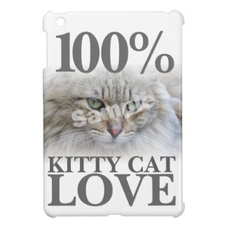 Antriebskraft-Fotokitty-Katzen-Liebe 100% Hülle Für iPad Mini