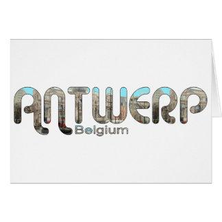 Antwerpen, Belgien Karte