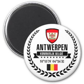 Antwerpen Runder Magnet 5,1 Cm