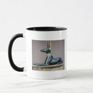 Anubis, ägyptischer Gott der Toten von einem Tasse