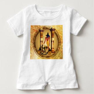 Anubis, alter ägyptischer Gott der toten Rituale Baby Strampler