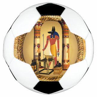 Anubis, alter ägyptischer Gott der toten Rituale Fußball
