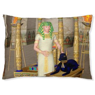 Anubis, alter ägyptischer Gott Haustierbett