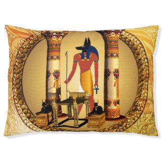 Anubis der ägyptische Gott Haustierbett