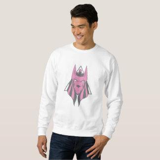 Anubis Grafik Sweatshirt