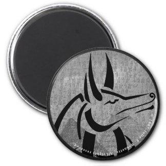 Anubis runder Magnet