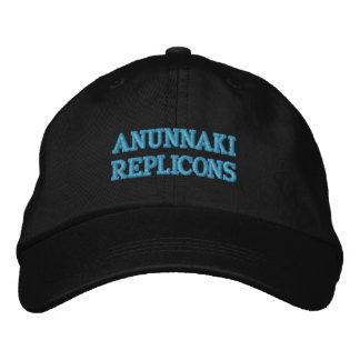 ANUNNAKI REPLICONS BESTICKTE BASEBALLCAPS