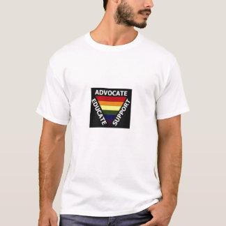Anwalt erziehen den T - Shirt der Männer der