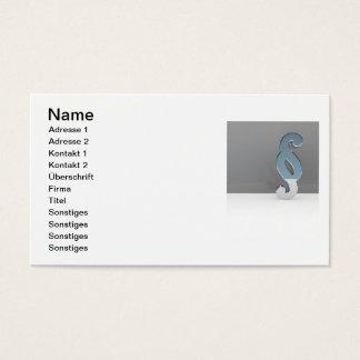 Anwaltskanzlei Visitenkarten