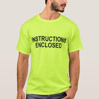 Anweisungen eingeschlossen T-Shirt