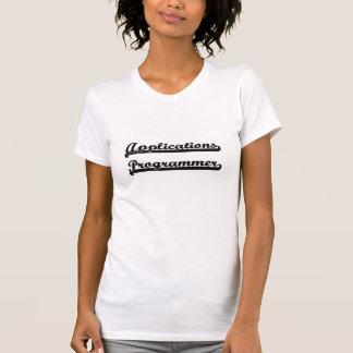 Anwendungs-Programmierer-klassischer Job-Entwurf T-Shirts