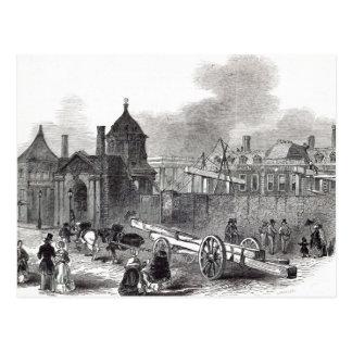 Anwesender Staat des britischen Museums Postkarte