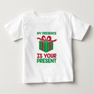 Anwesenheit vorhanden baby t-shirt