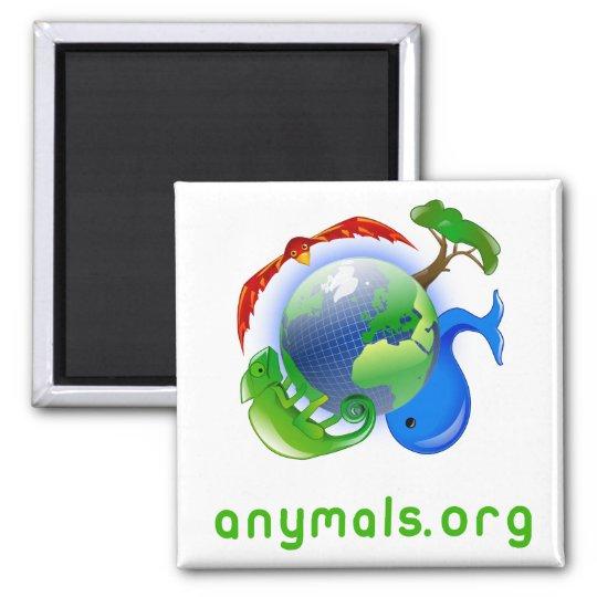 anymals.org magnet quadratischer magnet