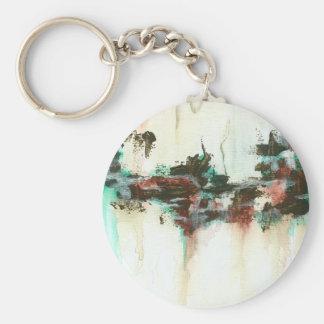 Anzeichen runder Keychain Charme von der Malerei Standard Runder Schlüsselanhänger