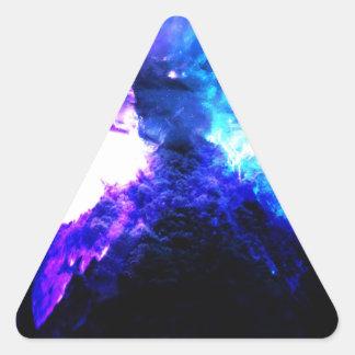 Anzeige Amorem Amisi Abalone See Dreieckiger Aufkleber