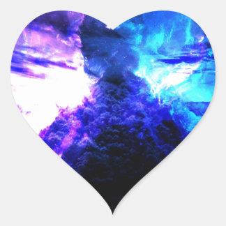 Anzeige Amorem Amisi Abalone See Herz-Aufkleber