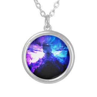 Anzeige Amorem Amisi Abalone See Versilberte Kette
