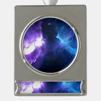 Anzeige Amorem Amisi Banner-Ornament Silber
