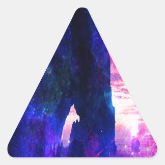 Anzeige Amorem Amisi die Bucht Träumers Dreieckiger Aufkleber