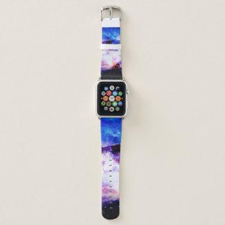 Anzeige Amorem Amisi irgendwo auf dem Indischen Apple Watch Armband