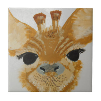 Anziehende Giraffe Entwurf des einzigartigen Fliese