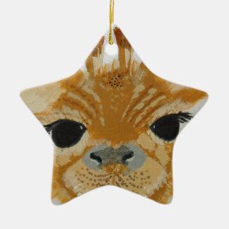 Anziehende Giraffe Entwurf des einzigartigen Keramik Ornament