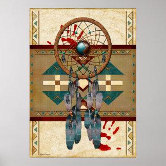 Anziehender Geist-amerikanischer Ureinwohner Poster