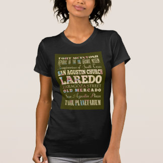 Anziehungskräfte und berühmte Orte von Laredo, T-Shirt