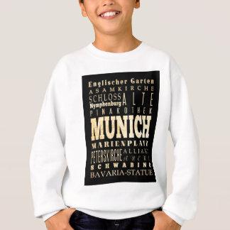 Anziehungskräfte und berühmte Orte von München, Sweatshirt
