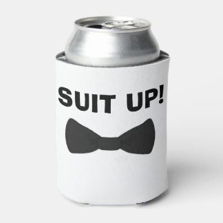 Anzug herauf Hochzeits-Party kann Dosenkühler