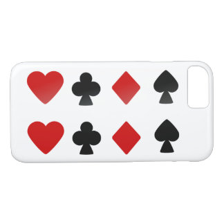 Anzugs-Kartensatz-Symbole iPhone 8/7 Hülle