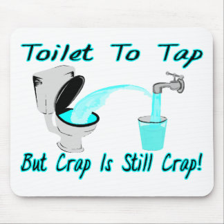 Anzustechen Toilette Mousepad