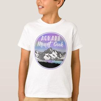 Aoraki Berg-Koch Neuseeland T-Shirt