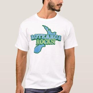 Aotearoa Felsen! Neuseeland-Karte T-Shirt