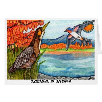 Aotearoa im Herbst Karte