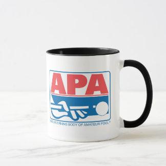 APA Vorlagen-Logo Tasse