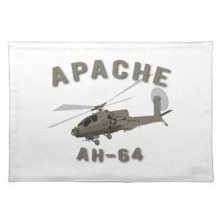 Apache AH-64 Stofftischset