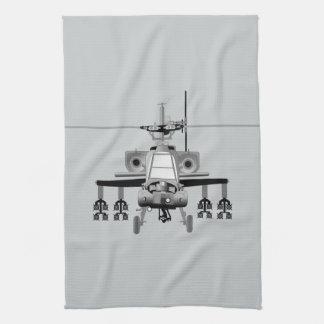 Apache-Hubschrauber - frontal Handtuch