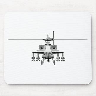 Apache-Hubschrauber - frontal Mauspad
