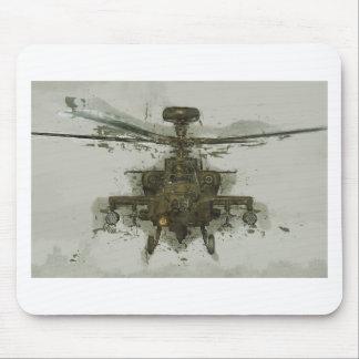 Apache-Hubschrauberangriff Mousepads