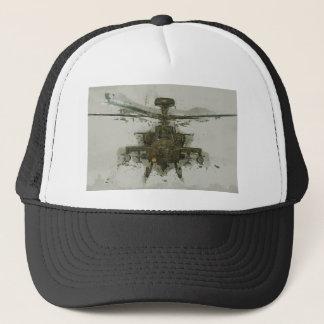 Apache-Hubschrauberangriff Truckerkappe