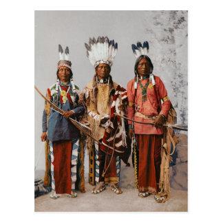 Apache-Leiter Garfield Ouche Te Foya 1899 Postkarte